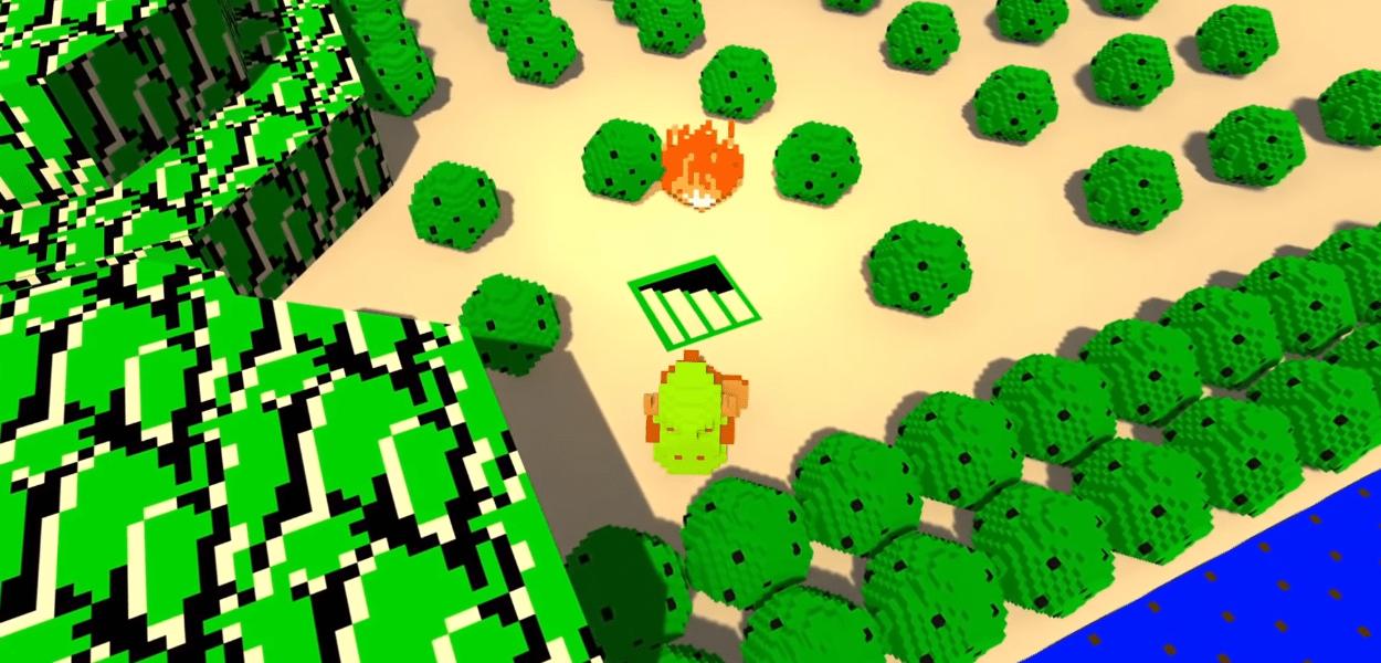 The Legend of Zelda: ricreata la versione originale del videogioco in 3D
