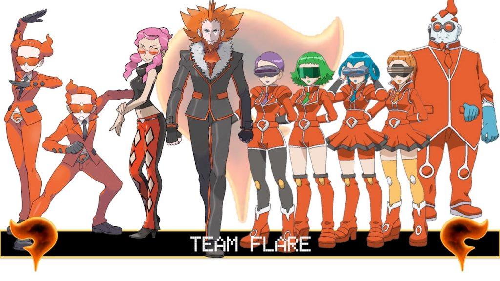 team flare completo