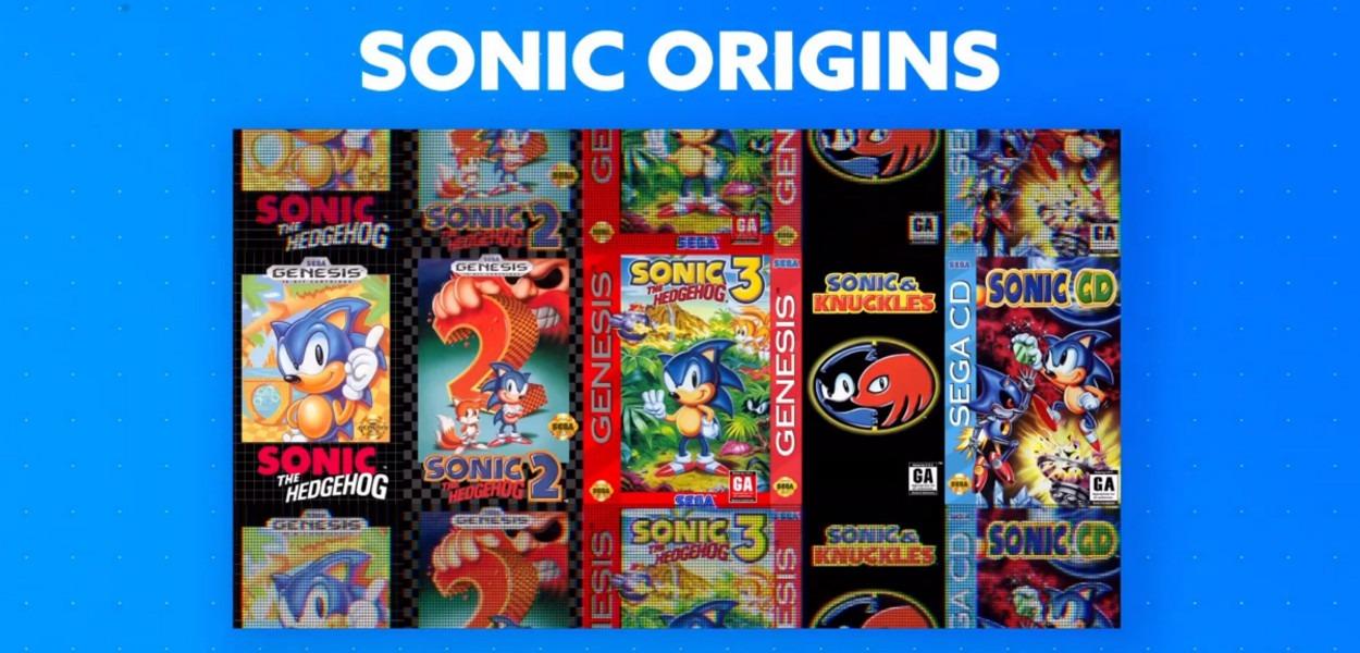 SEGA annuncia Sonic Origins, una nostalgica raccolta di giochi in arrivo nel 2022
