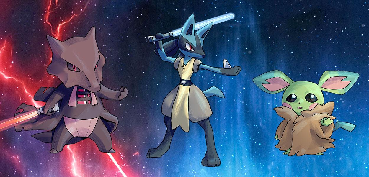 E se i Pokémon vivessero nell'universo di Star Wars?
