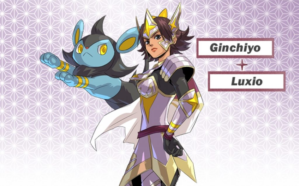 tachibana ginchiyo luxio Pokémon Conquest