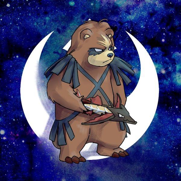 Ursaring Wookie