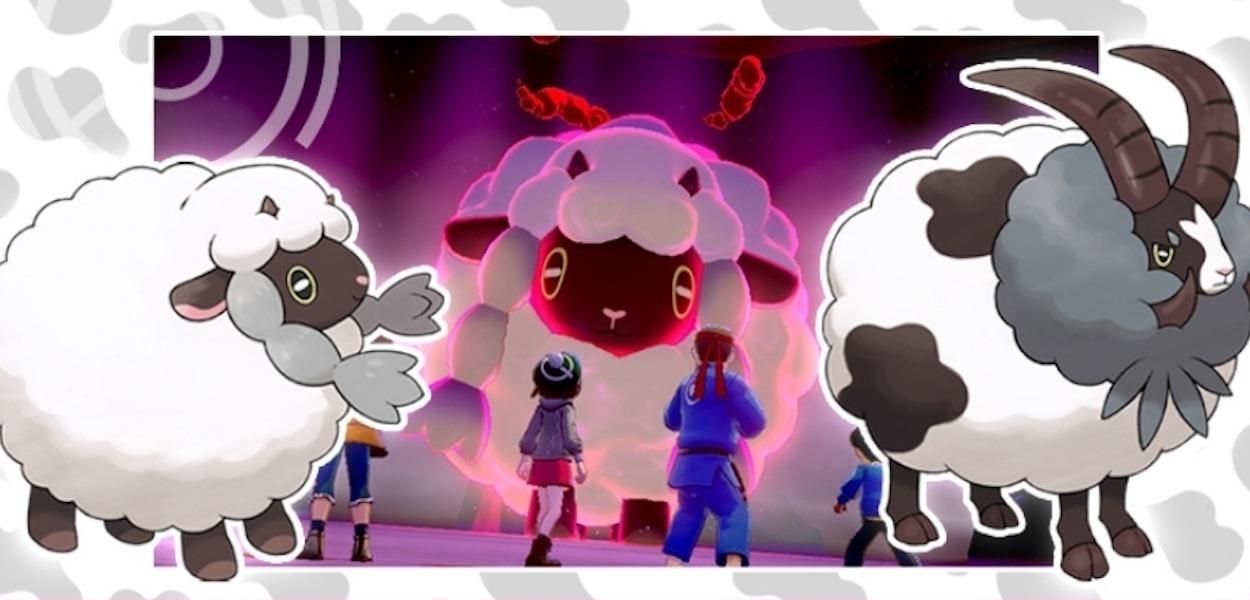 Wooloo cromatico arriva nei raid di Pokémon Spada e Scudo