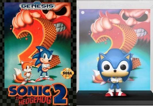 Sonic Funko pop