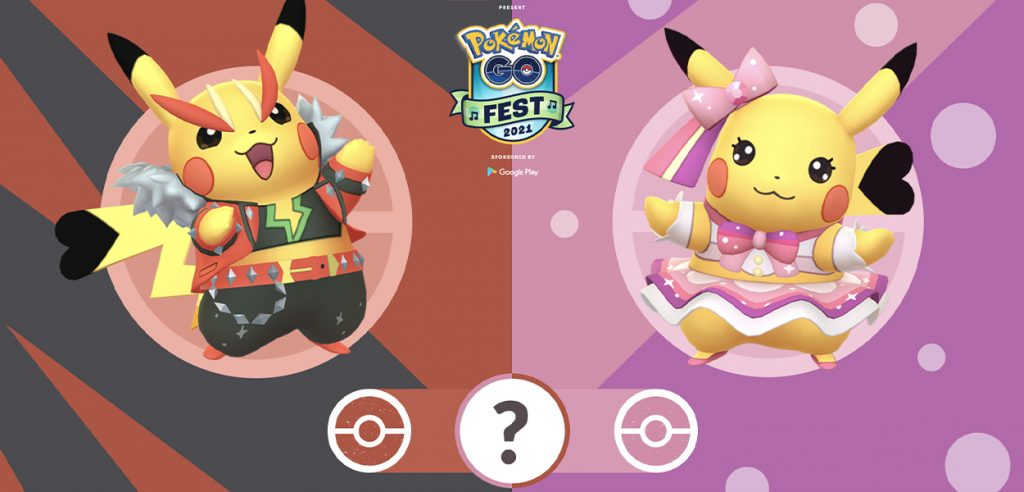 Pokémon GO Fest costume