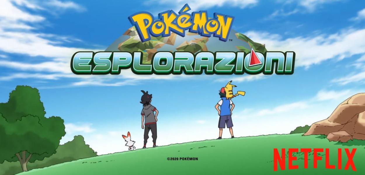 La serie Esplorazioni Pokémon arriva su Netflix in Italia