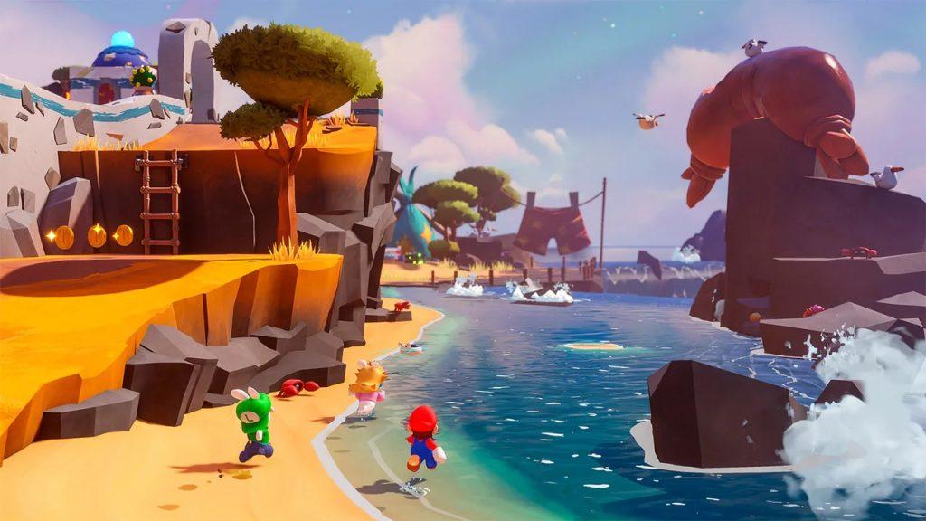 Mario + Rabbids Sparks of Hope schermata 1