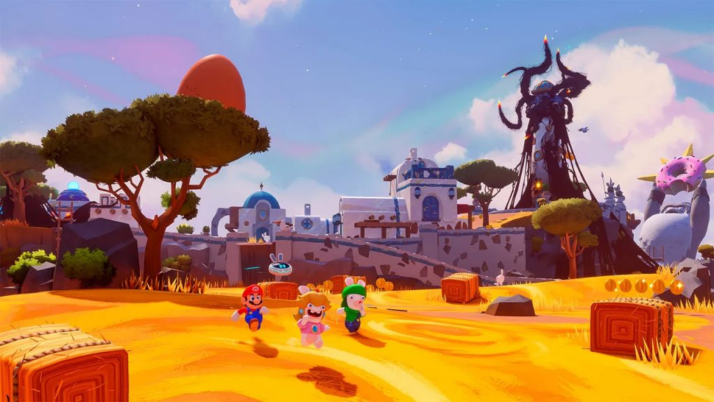 Mario + Rabbids Sparks of Hope schermata 2