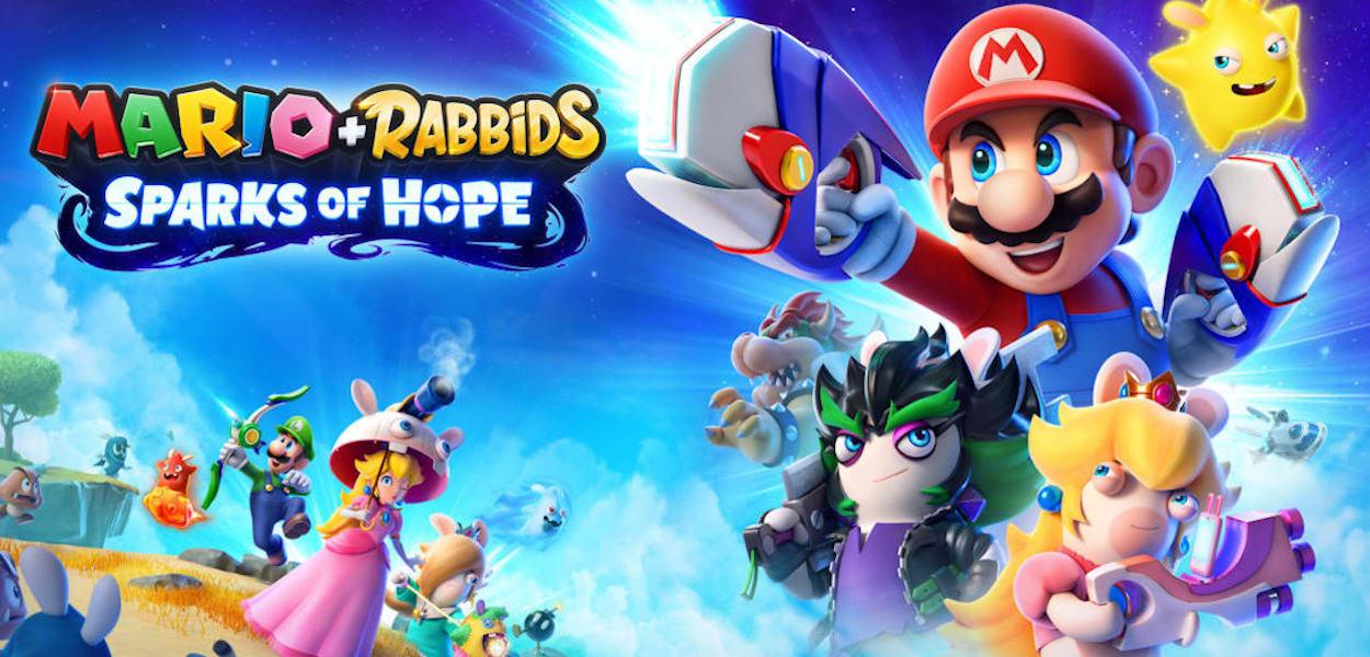 Annunciato ufficialmente Mario + Rabbids Sparks of Hope su Nintendo Switch