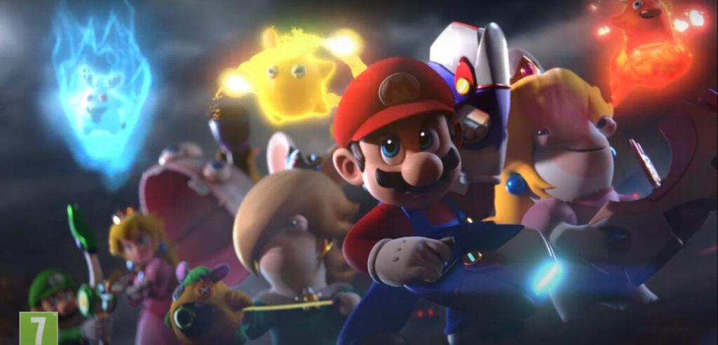 Mario Rabbids fan
