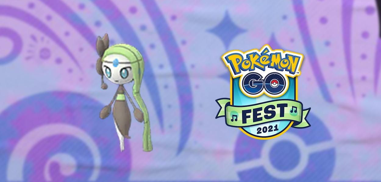 Meloetta sarà protagonista del Pokémon GO Fest 2021