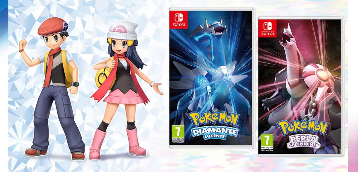 Pokémon Diamante Lucente e Perla Splendente: ecco quanti saranno i mostriciattoli