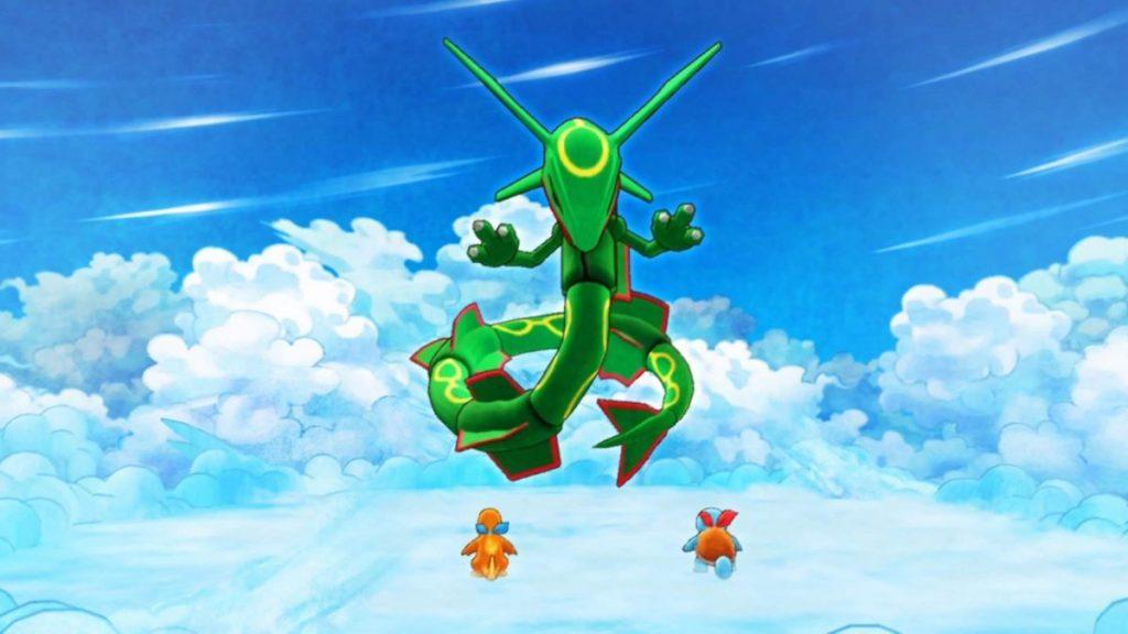Rayquaza come boss in Pokémon Mystery Dungeon, nella rubrica dedicata ai suoi valori.