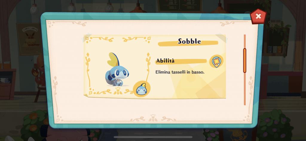 Sobble fa il suo ritorno in Pokémon Café Mix, pronto per essere reclutato