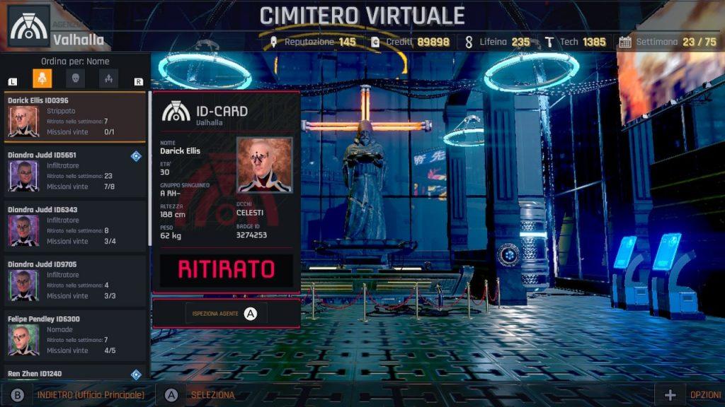cimitero virtuale