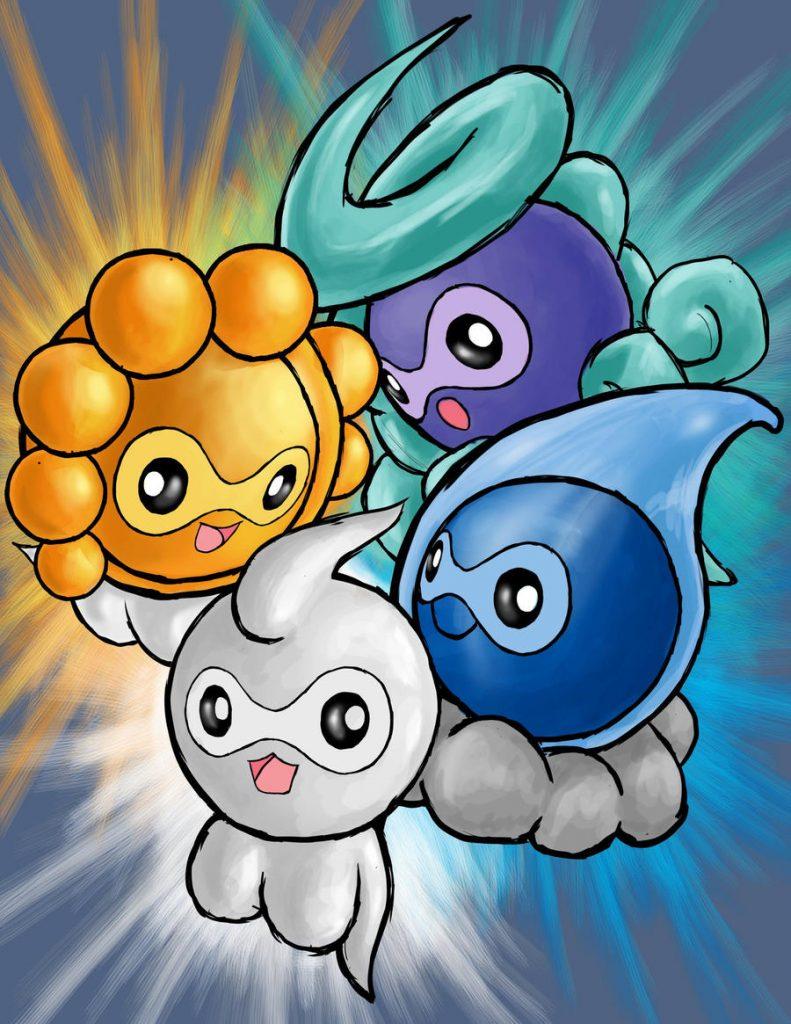 castform forme pokemon competitivi