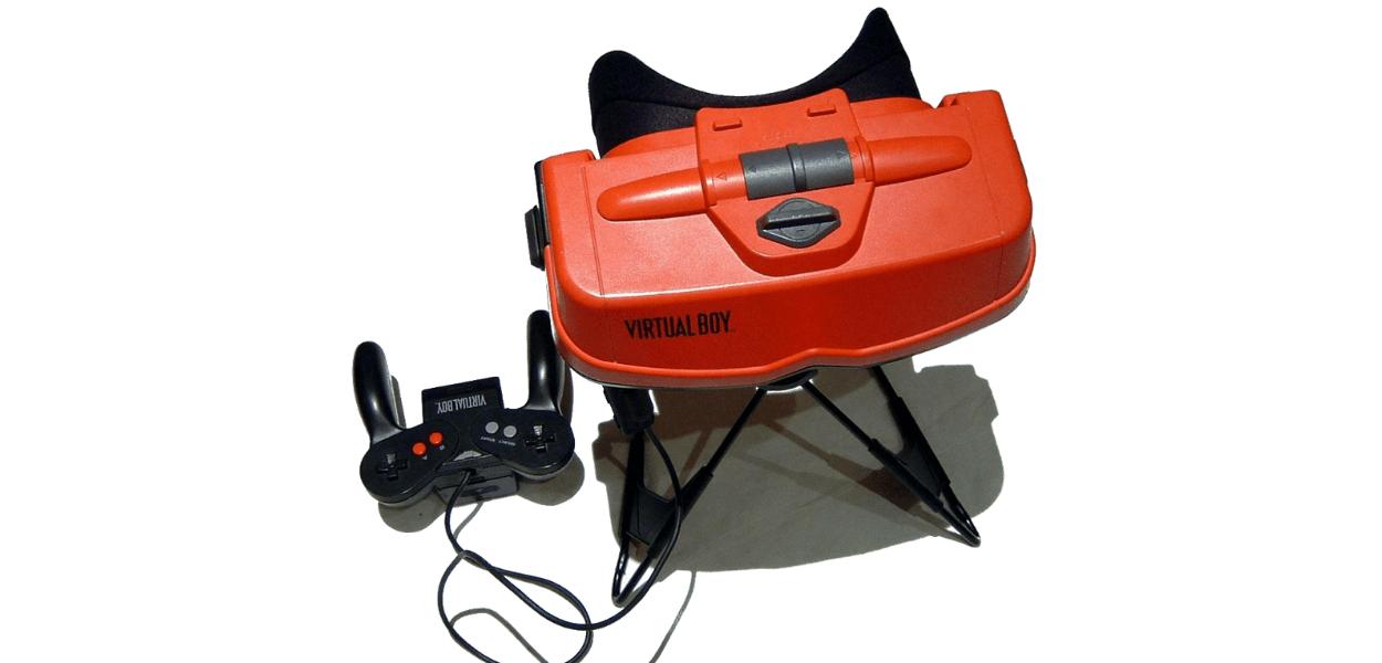 Qualcuno ha trasformato la console Nintendo Virtual Boy in una versione portatile