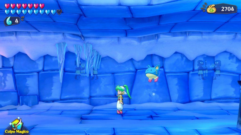 Asha nel dungeon di ghiaccio