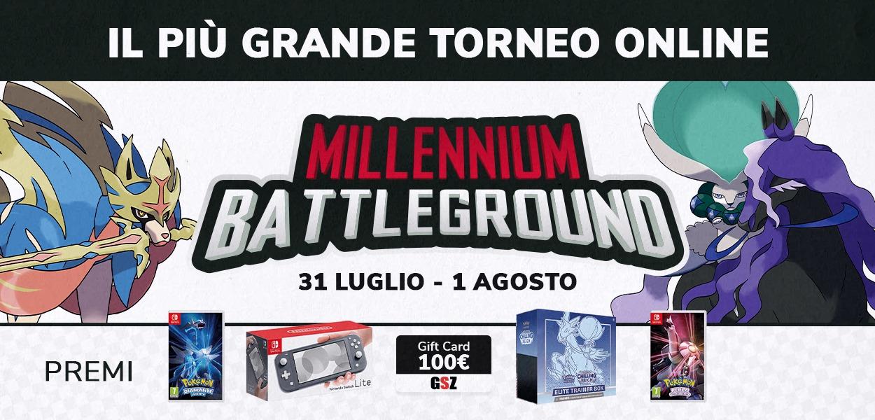 Millennium Battleground: grandi premi nel più grande torneo online GRATUITO!