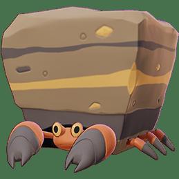 Crustle Pokémon Unite