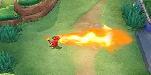 Lanciafiamme Pokémon Unite preview