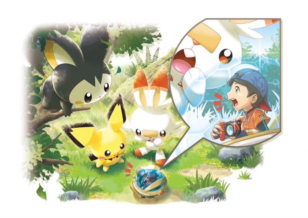 New Pokémon Snap illustrazione