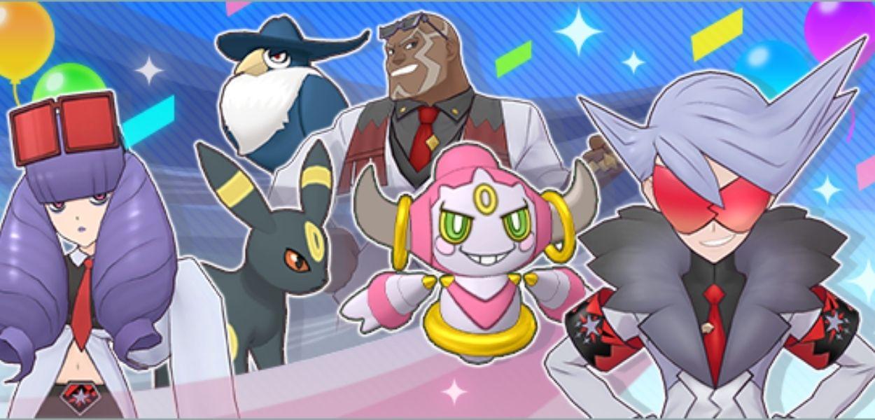 Pokémon Masters EX: Kelian e Hoopa danno il via al nuovo evento