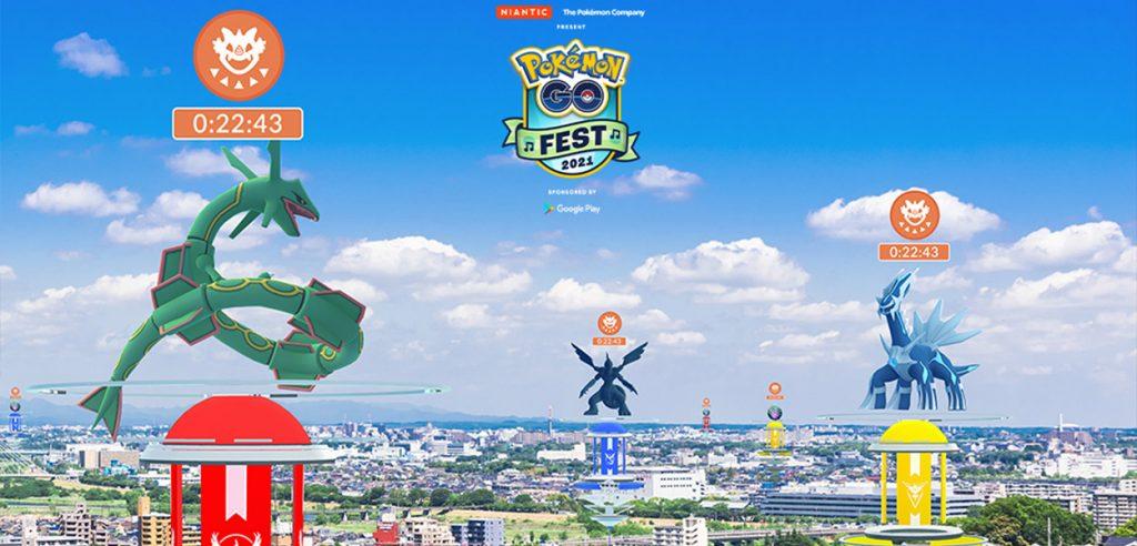 Pokémon GO Raid leggendari