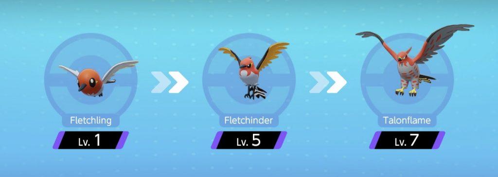 Evoluzioni Talonflame Pokémon Unite