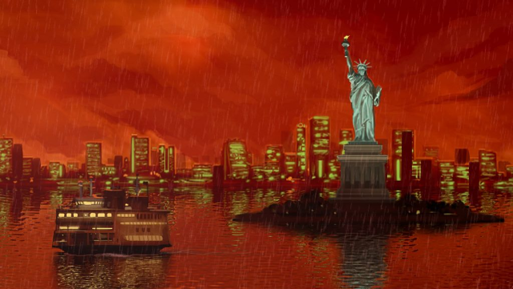 New York in Unavowed, punta e clicca di Wadjet Eye Games.