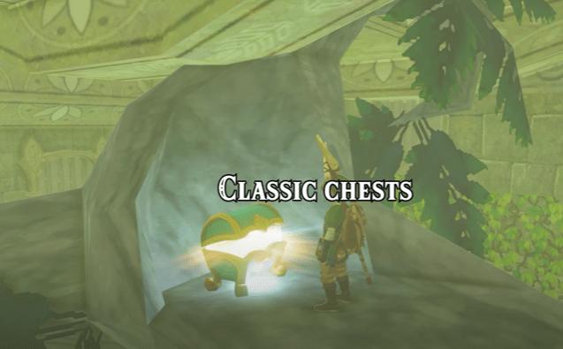 """Forzieri tradizionali nella nuova espansione fan-made """"The Lost Records"""" di Zelda: Breath of the Wild."""