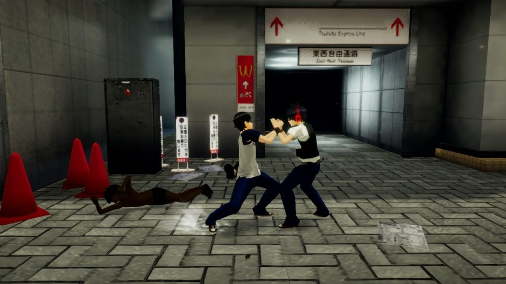 combattimento akiba's trip