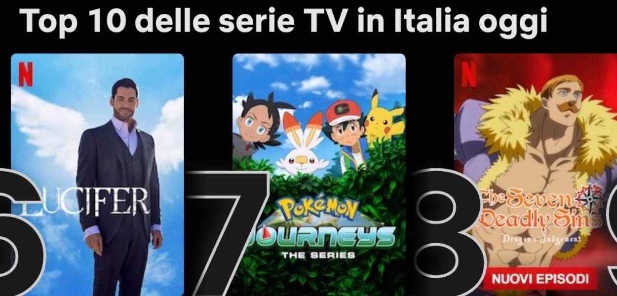 Esplorazioni Pokémon è nella top 10 dei più visti su Netflix Italia