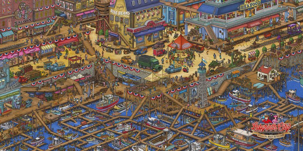 labyrinth city porto