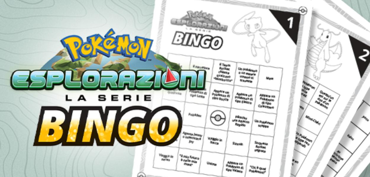 Gioca a bingo guardando le puntate di Esplorazioni Pokémon su Netflix