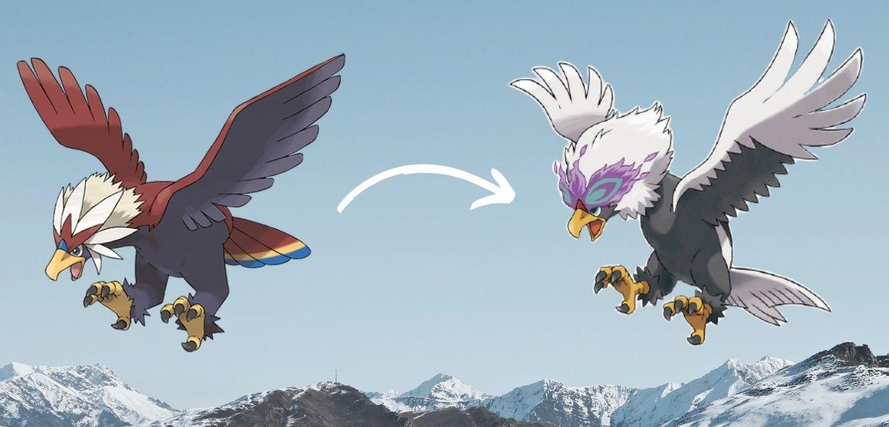 Braviary di Hisui, il Pokémon Baldogrido dagli incredibili poteri psichici
