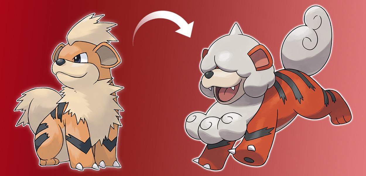 Growlithe di Hisui, il Pokémon diffidente ispirato ai komainu