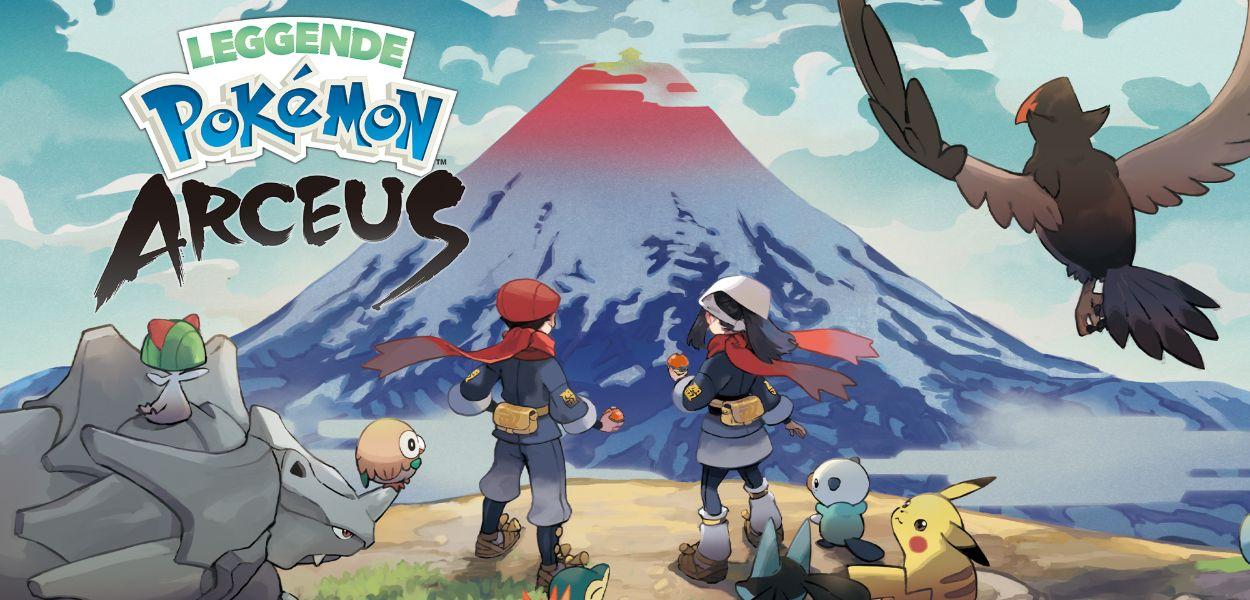 Leggende Pokémon Arceus: tutte le specie confermate finora
