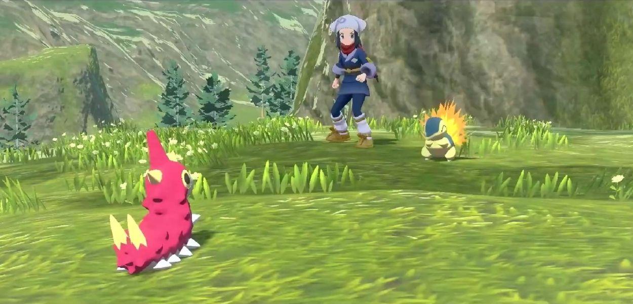 Nel trailer di Leggende Pokémon: Arceus i protagonisti hanno una voce