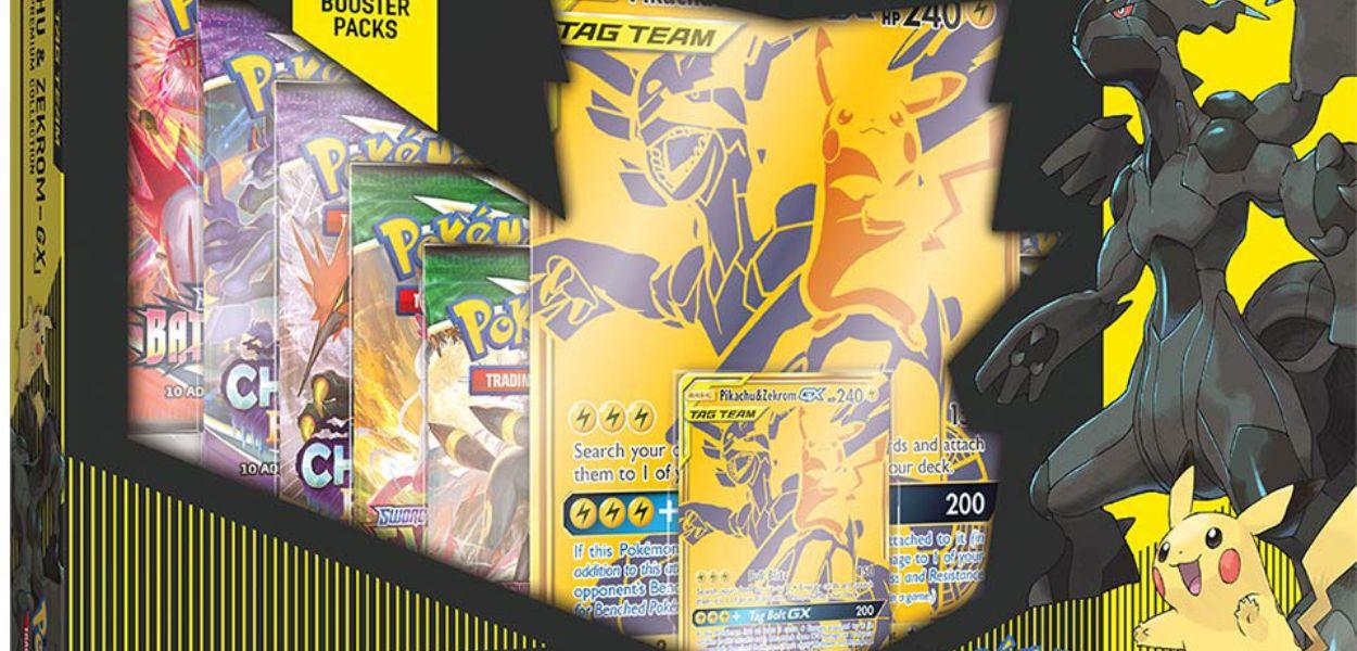 La Collezione Premium Pikachu e Zekrom GX arriverà in Occidente