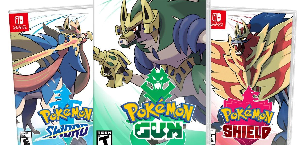 Un artista immagina il leggendario per il meme di Pokémon Gun