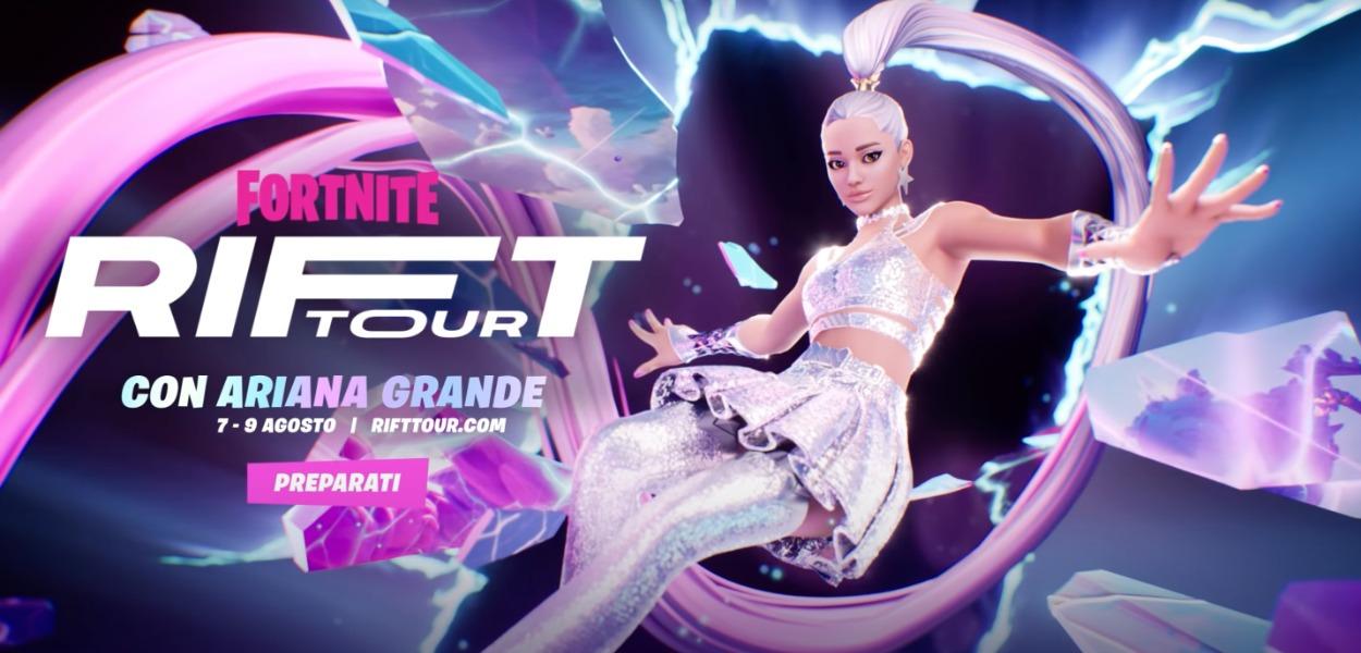 Ariana Grande terrà un concerto virtuale su Fortnite