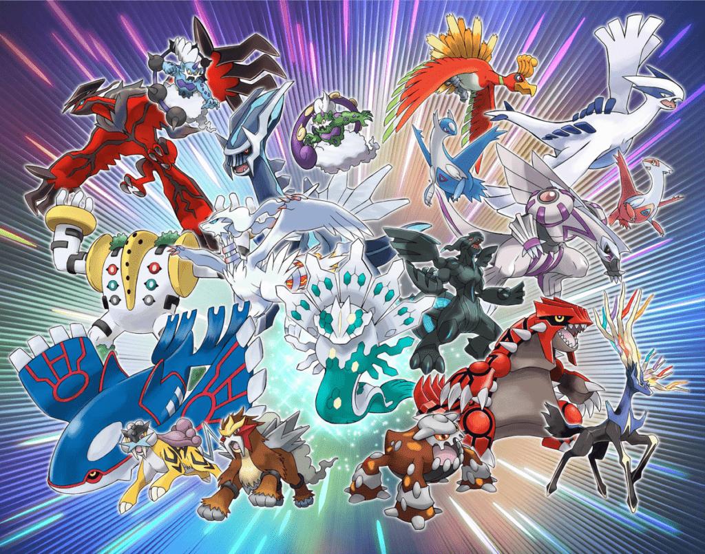 "Ammessi solo Pokémon leggendari nella gara online ""Scontro Leggendario""."