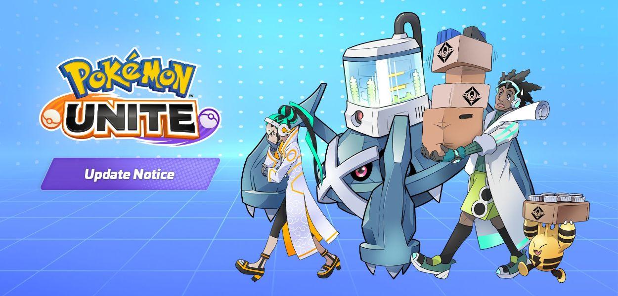 Pokémon Unite: un nuovo aggiornamento è in arrivo l'8 settembre