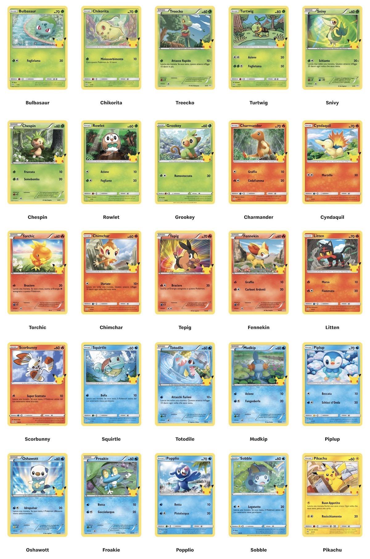 carte happy meal Pokémon mcdonalds 2021