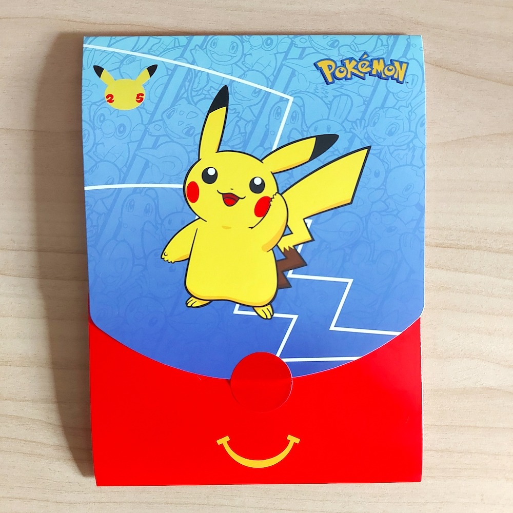cartoncino happy meal Pokémon