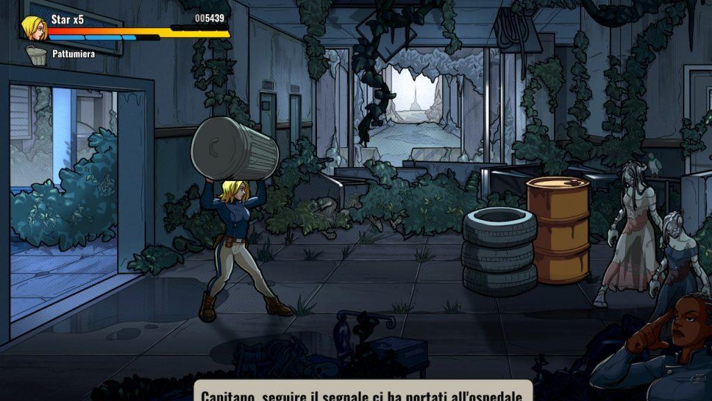 lancio oggetti in mayhem brawler