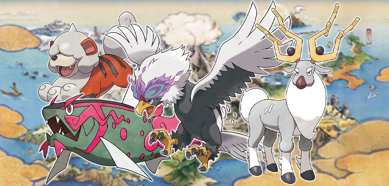 Leggende Pokémon: Arceus potrebbe contenere 20 nuove creature e forme regionali