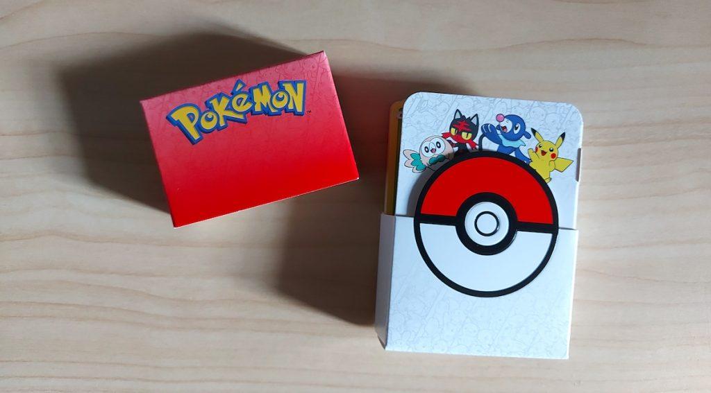 porta mazzo happy meal Pokémon