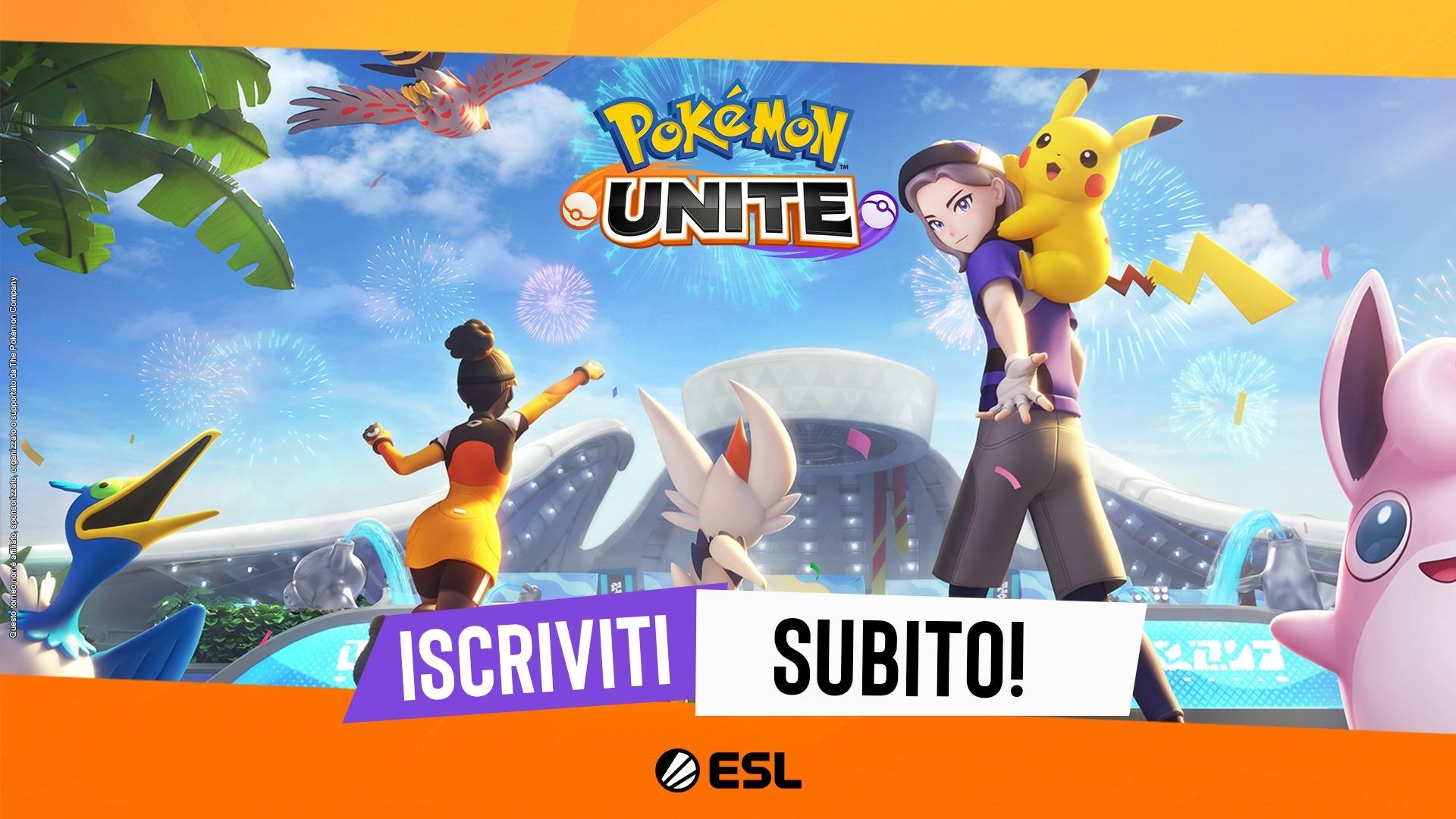 Annunciato un nuovo torneo competitivo italiano di Pokémon UNITE!